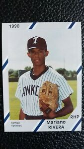 1990 Mariano Rivera 1st Card w Tampa Yankees Team Set GCL Minors Diamond Cards $275.00