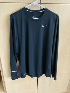 Men's Longsleeve Nike Running Shirt Dri Fit Size Large $11.00