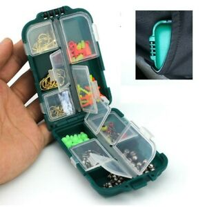 Fishing Storage Box Tool Container Hobbies Compartments 9.9*6.5*3cm Acesorries
