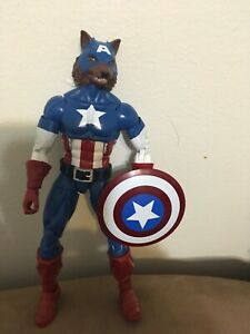 Marvel Legends CAPTAIN AMERICA WOLF CAP Action Figure Onslaught Wave CapWolf