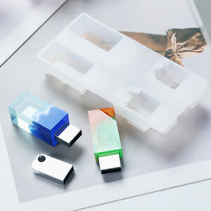Rectangle Mold Casting Mould USB DIY Gift for Friends $6.34