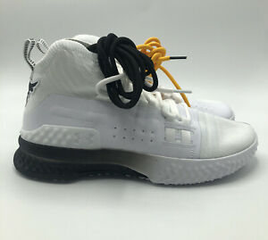 Under Armour Shoes Mens UA Project Rock 1 White Blood Sweat Respect Size 9 $100.00