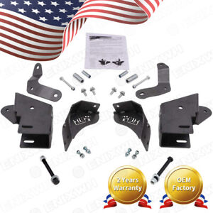Front Control Arm Relocation Drop Bracket Kit for 84 01 Cherokee XJ 4.5 up Lift $129.99