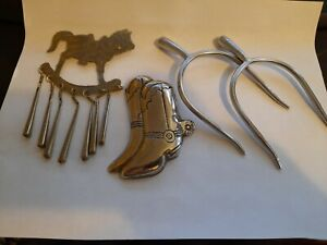 English Riding Spurs With Ornaments