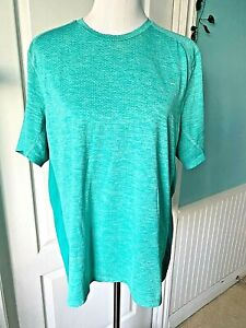 Mens Nike Running Dry Fit Shirt Sz XL Teal Performance Short Sleeve T Shirt EUC $14.99