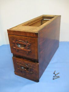 Pair of TREADLE SEWING MACHINE DRAWERS with Frame $32.00