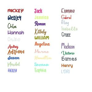 Easy to Order Custom Personalized Sticker Decal Vinyl Name Lettering FREE SHIP $1.69