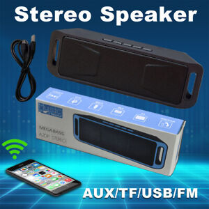 Rechargeable 50W Stereo Wireless Super Bass Speaker Portable Bluetooth Subwoofer $11.99