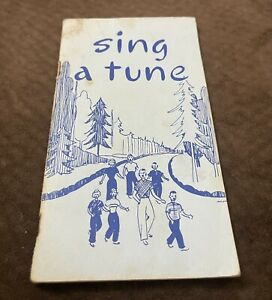 Vintage Song Booklet quot;Sing a Tunequot; 1966 Religious Church and Folk Music