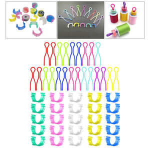 50pcs Sewing Spool Pieces Backing Spool Pals Clips for Embroidery $8.56