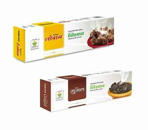 Nishan Natural Guggal And SIngapuri Loban Incense Sticks Agarbatti