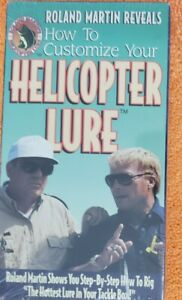 How to Customize Your Helicopter Lure by Roland Martin VHS NEW SEALED VB1