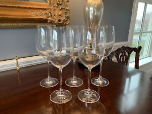 Crystal DiVino by Rosenthal Bordeaux 10 Crystal Red Wine Glasses Set 5