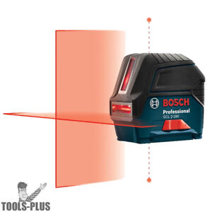 Bosch GCL 2 160 S RT Self Leveling Cross Line Laser with Plumb Points $89.99