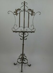 Music Stand Menu Stand Bookstand IN Baroque Style Antique Stand $95.08