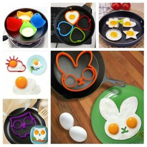 Silicone Egg Pancake Molds Cooking Pancake Shaper Kitchen Gadgets Accessories