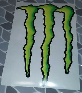 Monster Energy Decal 14quot; X 10quot; $14.99