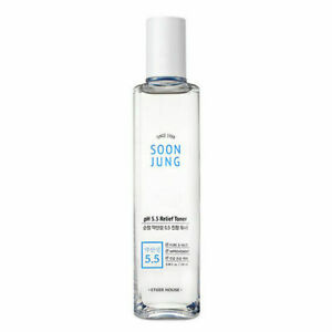 Etude House Soon Jung PH 5.5 Relief Toner 180mL FREE Shipping from US $12.99