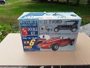AMT Double Kit EMPTY BOX . Hobbies And Collectibles. Vintage Models. C $29.97