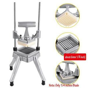 Potato French Fry Fruit Vegetable Cutter Slicer Commercial Quality Blade 1 4 in $66.99