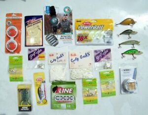 Fishing Lure amp; Accessories Lot 19 Berkely Booyah Line Rod Handle Wrap Old Lures