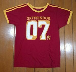 The Wizarding World of Harry Potter Gryffindor Small Quidditch Jersey Shirt $24.00
