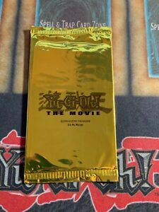 Yugioh The Movie 2004 Gold Promotional Pack Brand New Factory Sealed Brand New $9.99