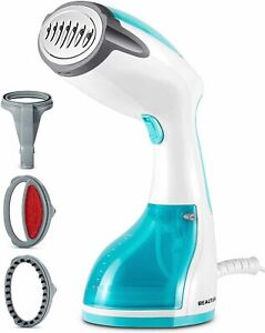 BEAUTURAL Steamer for Clothes with Pump Steam Technology Portable Handheld Garm