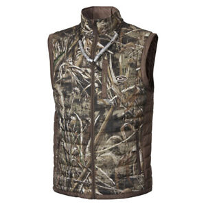 DRAKE MST Synthetic Down 2 Tone Realtree Max 5 Pac Vest DW1061 015T