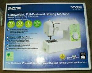 BROTHER SEWING MACHINE 27 STITCH amp; 63 STITCH FUNCTIONS NEW $149.95