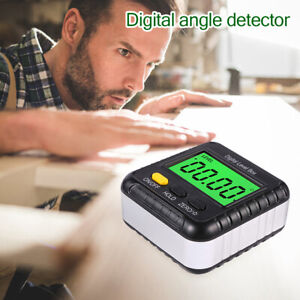 Magnetic Digital Inclinometer Angle Finder Protractor N Spirit Bubble USA $17.11