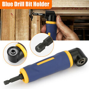 1 4quot; Hex Shank Right Angle Screwdriver Adapter Extension Drill Bit Socket Holder $14.48