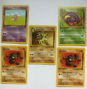 1st Edition Pokemon Cards WOTC 1999 Never Played Excellent Condition You Pick $3.49