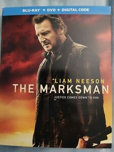 THE MARKSMAN BLU RAY DVD DIGITAL CODE Brand New amp; Free Shipping $22.00