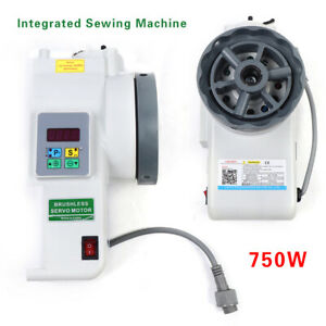 750W Integrated Servo Motor Driver For Brother Sewing SINGER ZOJE GEMSY Machine $87.40