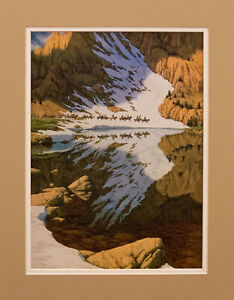 Bev Doolittle Season of the Eagle Matted Print fits an 11x14 ready made frame $19.99