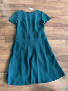 Brooks Brothers Dress Womens Size 4 Small S NWT New $199 Short Sleeve $78.00