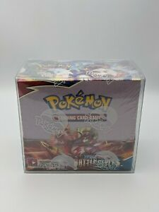 Pokemon Booster Box Protector Display Case Plastic Container 5 pack $32.00