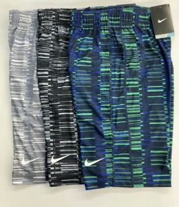 Nike Dri Fit Printed Athletic Training Shorts for Boys Youth Size: S M L XL