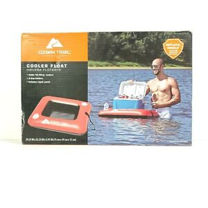 Ozark Trail Inflatable 24 48qt Cooler Float Handles Cup Holders NEW Unopened