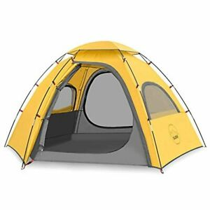KAZOO Outdoor Camping Tent 2 4 Person Waterproof Camping Tents Easy Setup Two Fo