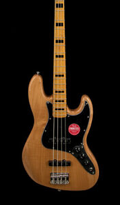 Squier Classic Vibe #x27;70s Jazz Bass Natural #37708 B Stock