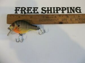 USA Made Bagley Small Fry Bream 2quot; SMALL VERSION ALL Brass Hardware CRANKBAIT