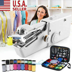 Mini Held Sewing Machine Handheld Electric Stitch Portable Cordless Household $25.99