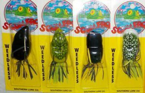 SCUM FROM TOPWATER BASS FISHING LURE CHOICE OF COLOR AND STYLE