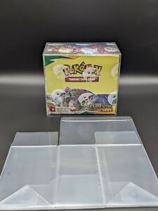 Pokemon Booster Box Protector Display Case Plastic Container 1 pack $9.00