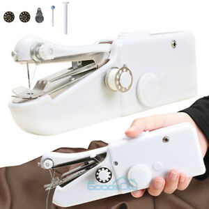 Hand Held Sewing Machine Singer Portable Stitch Sew Quick Handy Cordless $13.81