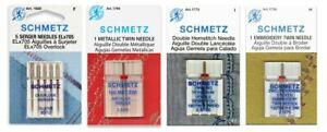 SCHMETZ Sewing Machine Needles Various Types size Sold in Individual Packets $3.99