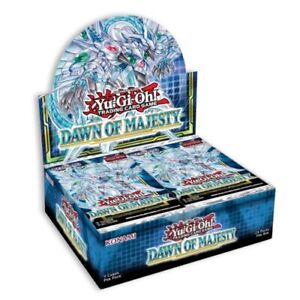 Yugioh Dawn of Majesty 1st Edition Booster Box New Factory Sealed $58.99
