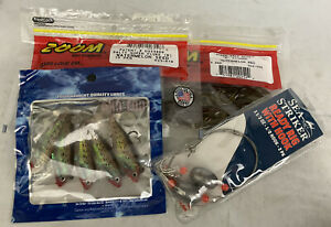 one pack of 4 different variety fishing supplies